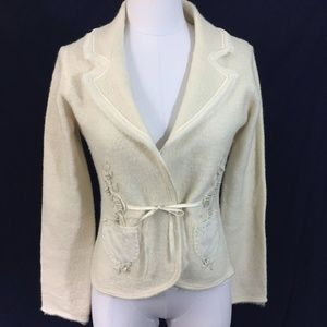 Anthropologie Sleeping On Snow M Blazer Jacket